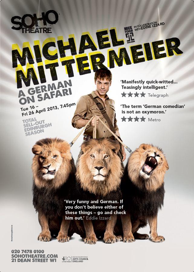 A German on Safari